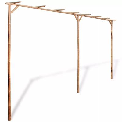 Pergola Bambou 385 x 40 x 205 cm