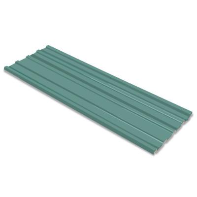 Tôle en acier galvanisé 12 pièces Vert