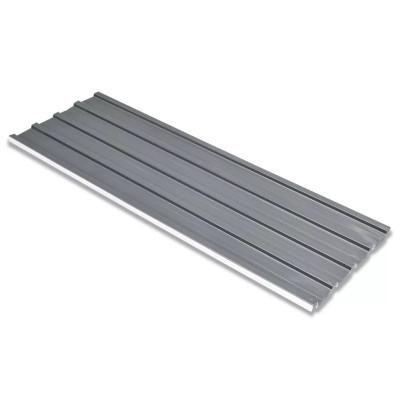 Tôle en acier galvanisé 12 pièces Gris
