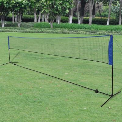Filet de badminton avec volants 600 x 155 cm