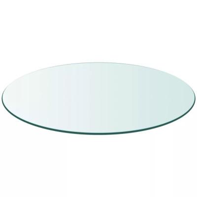 Dessus de table ronde en verre trempé 600 mm