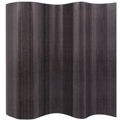 Cloison de séparation Bambou Gris 250 x 195 cm