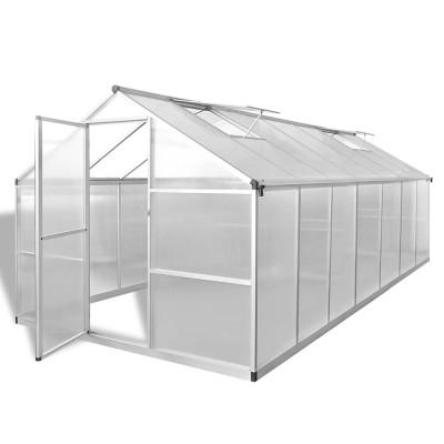 Serre Aluminium renforcé 10,53 m²
