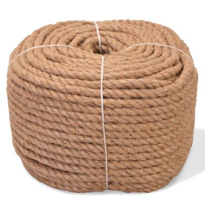 Corde 100 % jute 12 mm 100 m
