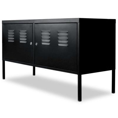 Meuble de téléviseur 118 x 40 x 60 cm Noir