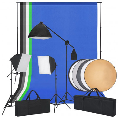 Kit de flash de studio et un réflecteur