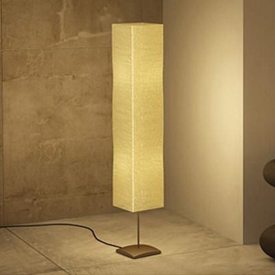 Lampe à pied de salon 135 cm Alu crème