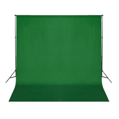 Fond vert pour studio photo 300 x 300 cm