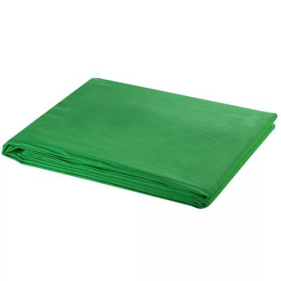 Fond vert XL pour studio photo 600 x 300 cm