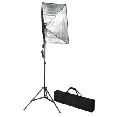 Lampe de photo studio avec diffuseur softbox 60 x 40 cm