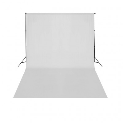 Support de fond de studio photo avec fond blanc 500x300 cm