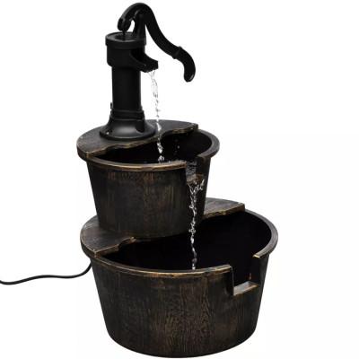 Fontaine Design de pompe de puits
