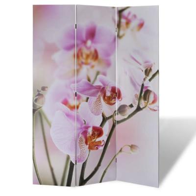 Paravent 120 x 180 fleurs