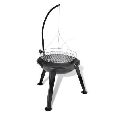 Barbecue suspendu à cuisson rond