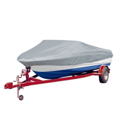 Housse pour bateau gris 488-564 cm (longueur) 239 cm (largeur)