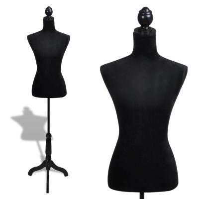 Buste de couture de femme noir
