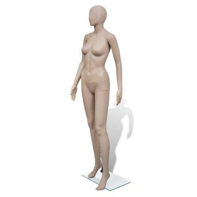 Mannequin de vitrine Femme Tête ronde