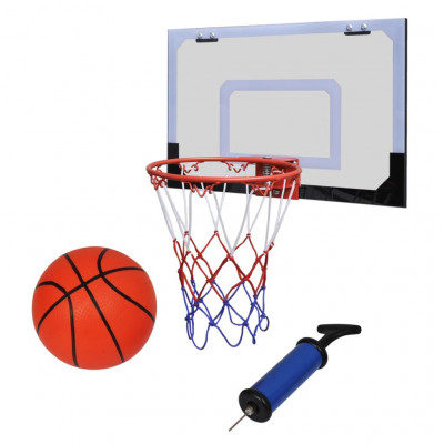 Mini Panier Basket Ball avec Ballon et Pompe