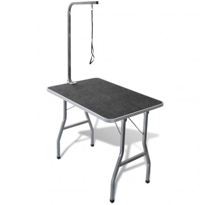 Table de Toilettage Ajustable pour Chiens Chats 1 Potence
