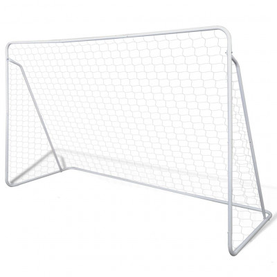 vidaXLCage de but de football 240 x 90 x 150 cm Acier