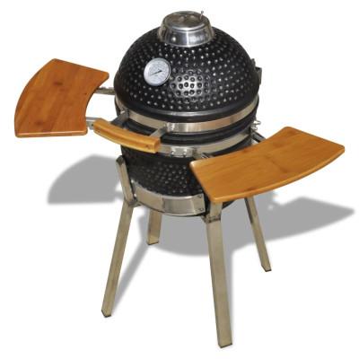 Kamado Barbecue au charbon de bois en céramique 76 cm