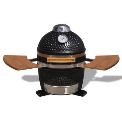 Kamado Barbecue au charbon de bois en céramique 44 cm