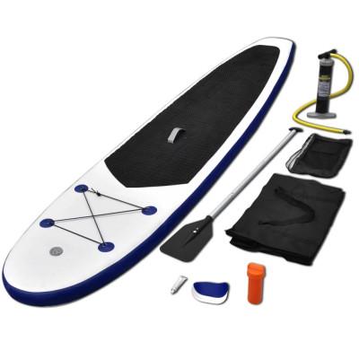 Stand Up Paddle Planche à rame Bleu et blanc