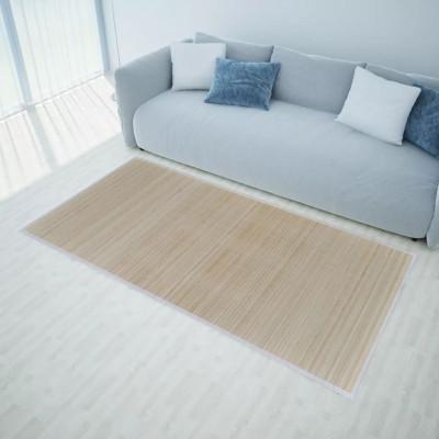 Tapis en bambou naturel à latte Rectangulaire 80 x 300 cm