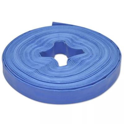 """Tuyau d'incendie plat en PVC 25 m 1"""""""