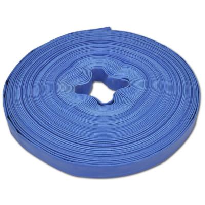 """Tuyau d'incendie plat en PVC 50 m 1"""""""