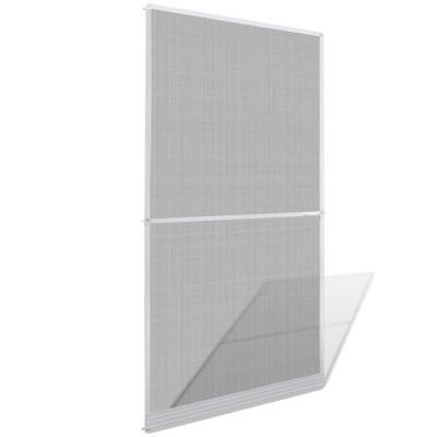 Moustiquaire à charnières blanche pour porte 120 x 240 cm