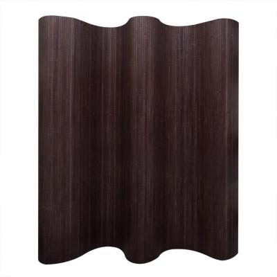 Cloison de séparation Bambou Marron foncé 250 x 195 cm