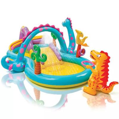 Piscine gonflable aire de jeux Intex Dinoland 333x229x112 cm 57135EP