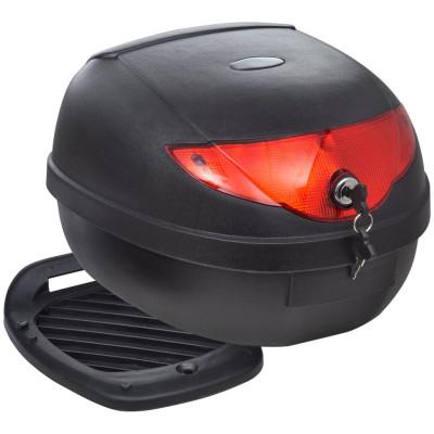 Boîte de moto 36 L pour un seul casque