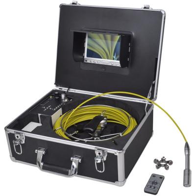 Caméra endoscopique pour canalisation avec DVR enregistrement vidéo