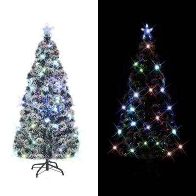 Arbre de Noël artificiel et support/LED 180 cm 220 branches
