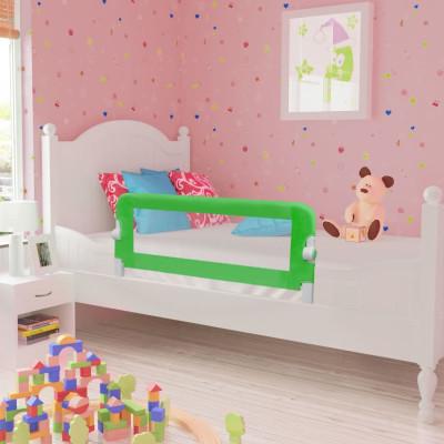 Barrières de lit pour enfants 102 x 42 cm Vert