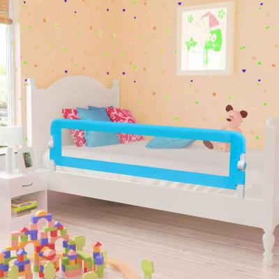 Barrières de lit pour enfants 150 x 42 cm Bleu