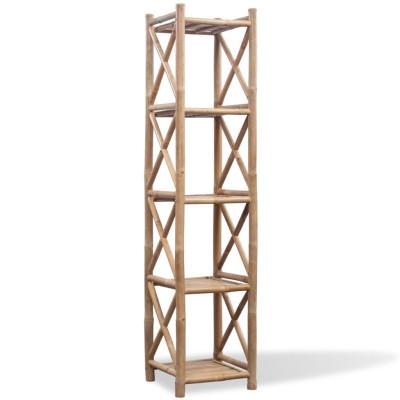 Etagère à 5 paliers en bambou