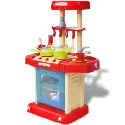 Cuisine-jouet pour enfants avec effets lumineux/sonores