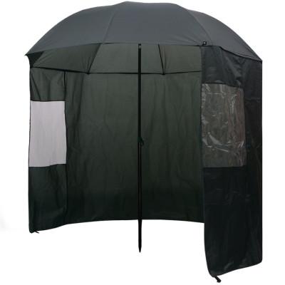 Parapluie de pêche vert 240x210 cm