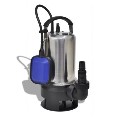 Pompe submersible pour eaux sales 1100 W 16500 L/h