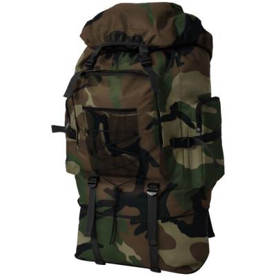 Sac à dos en style d'armée XXL 100 L Camouflage