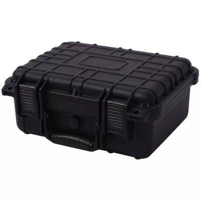 Boîte de protection pour équipement 35 x 29,5 x 15 cm noir