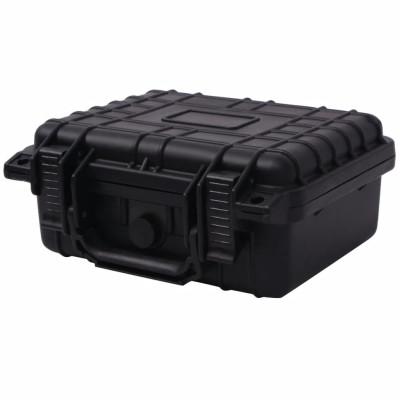 Boîte de protection pour équipement 27 x 24,6 x 12,4 cm noir